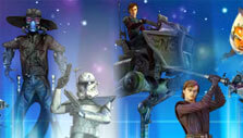 Characters in Star Wars: Galaxy of Heroes