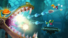 Attacking the dragon's mouth in Rayman Legends