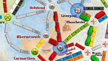 Ticket to Ride: Pass and play