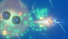 Rigid Force Alpha: Attacking from behind
