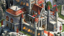 Your castle in King of Avalon: Dragon Warfare