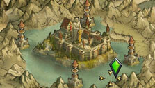 King of Avalon: Dragon Warfare: Kingdom map