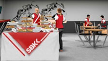 SBK Team Manager: Organize a buffet