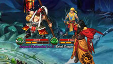 Boss fight in Realm of Warriors