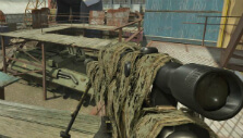 Ghillie sniper in Combat Arms: Reloaded