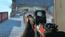 AR with Holo sight in Combat Arms: Reloaded