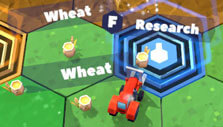 Red Tractor Tycoon: Getting research points