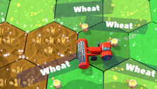 Red Tractor Tycoon: Harvesting