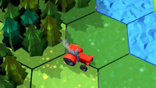 Red Tractor Tycoon: Exploring the map
