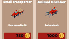 Tractor upgrade in Red Tractor Tycoon