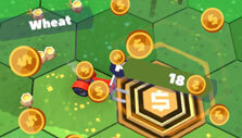 Red Tractor Tycoon: Selling your harvests for cash