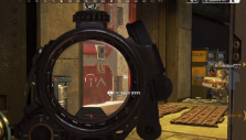Looking through a scope in Apex Legends