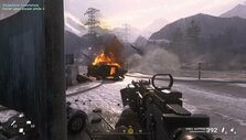 BMP explosion in CoD: MWR