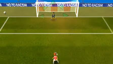 Penalty kick in Super Arcade Football