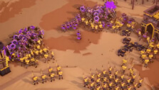 Units in formation in Empires Apart