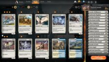 Starter deck in MTG Arena