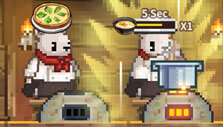 Boosting my chef in Cooking Quest