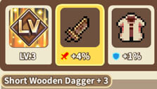 Upgrading my heroes in Cooking Quest