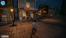 Starting town in New Frontier