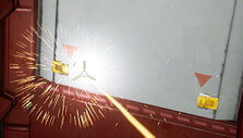 Deliver Us the Moon: Using a laser blowtorch