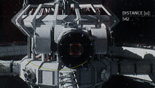 Docking into Pearson Space Station in Deliver Us the Moon