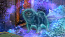 Ghostly dog in Mystery Tales: The House of Others