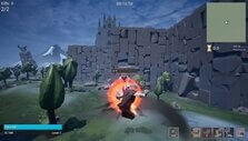 Executing a combo in Valgrave: Immortal Plains