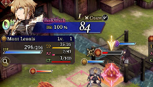 Encircling an enemy in War of the Visions: Final Fantasy Brave Exvius