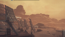 Solar array in Moons of Madness