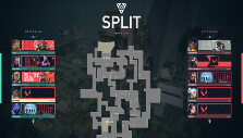 Split map in Valorant