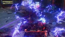 Unleashing a powerful attack in Frenzy Retribution