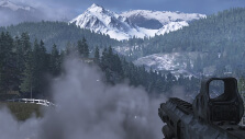 Georgian mountains in MW2 Remastered