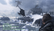 Riding a heli in MW2 Remastered