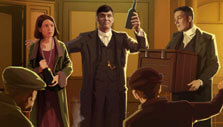 Successful mission in Peaky Blinders: Mastermind