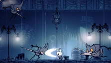 Facing off against multiple opponents in Hollow Knight