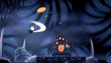 Fighting in midair in Hollow Knight