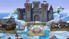 Town hub in Lords of the Arena