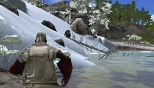 From snow to lush forest in Ark: Survival Evolved