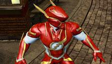 The Flash in Mecha Earth