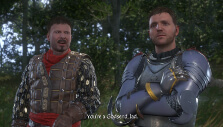 Henry and Sir Radzig in Kingdom Come: Deliverance