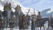 Crossing the Alps in Imperator Rome