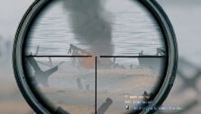 Sniping on the beaches of Normandy in Enlisted