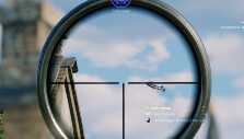 Enemy plane strafing in Enlisted