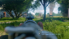 Aiming down sights in Enlisted