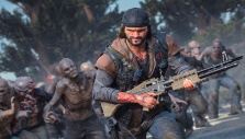 Chased by a horde in Days Gone