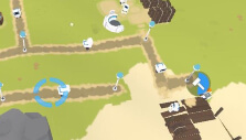 Building a fishing port in The Colonists