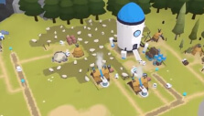 Thriving colony in The Colonists