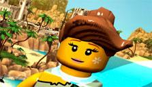Flying in Lego Minifigures Online