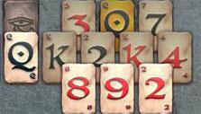 Buried in deep in Pyramid Solitaire Saga