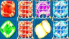 Netted crystals in Atlantis Adventure